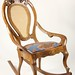 252. Jugendstil Art Nouveau Austro-German Rocking Chair