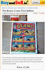 Beano Comic Book - First Edition (BuyandSell.ie) Tags: old classic vintage artwork comic antique comicbook beano childrens frontpage dandy productshot whiteborder firstedition collectorsitem valuable classifiedad oldnewspaper 1stedition buyandsell buysell buyandsellie