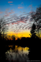 Sunset (JSB PHOTOGRAPHS) Tags: park sunset water oregon reflections pond nikon baker d2x eugene nikkor alton autzen 18200mm d2x46391889