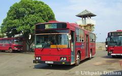 SLTB Hino Akashi Bus (Uthpala Dilhan) Tags: bus hino akashi citybus deport kadawatha sltb ලංගම කඩවත