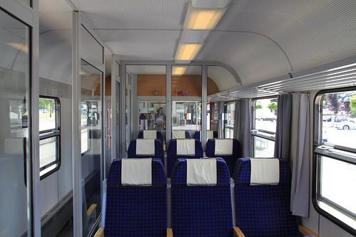 DB Regio 1st class coach interior