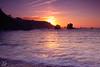 Ocaso en el Silencio (Urugallu) Tags: amigos color luz sol atardecer mar asturias playa cielo nubes crepusculo olas ocaso cudillero rocas silencio compañia reflejos asturies largaexposicion tonos marcantabrico thegalaxy playadelsilencio castañeras principadodeasturias findeldia olétusfotos sedado gavieru mygearandme alacabareldia flickrstruereflection1