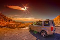 Headed Home (/\ltus) Tags: california mountains honda pentax socal southerncalifornia hdr pilot sanbernardino k7 5xp