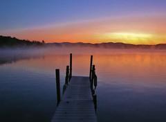 Sunrise at the Dock (SueZinVT) Tags: newvision mygearandme mygearandmepremium mygearandmebronze mygearandmesilver mygearandmegold mygearandmeplatinum mygearandmediamond peregrino27newvision