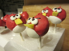 Day 324 - Cause they are ANGRY! (GPrime83) Tags: canon redbird project365 angrybirds project366 cakepops elph100hs