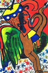 PAP-DAV-01 (moralfibersco) Tags: art latinamerica painting haiti gallery child fineart culture scan collection countries artists caribbean emerging voodoo creole developingcountries developing portauprince internationaldevelopment ayiti