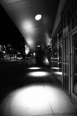 Light in Darkness [Explored] (Edwin_Abedi) Tags: california bw composition los lowlight angeles dtla