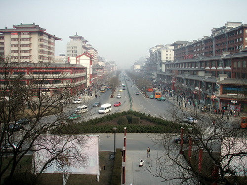 Street view in Xian, China / Travel Seer