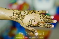 Gulf-inspired Henna Design (Henna Craze) Tags: art bride hands artist body michigan indian annarbor arabic professional pakistani shaadi bridal henna popular craze mehndi westbloomfield dulhan mhendi sumeyya hennacraze