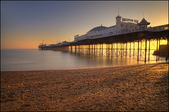 Brighton Pier (explored) (Ben Locke (Ben909)) Tags: longexposure sea coast pier brighton brightonpier