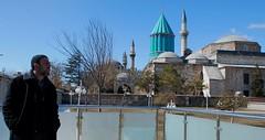 Geometrie islamiche 2/3 (Aldòbus) Tags: turkey geometry muslim islam mosque cami konya geometrie turchia cupole mevlana