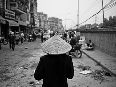 High Noon, Long Bien Bridge Market - Hanoi (adde adesokan) Tags: street travel people pen photography asia streetphotography documentary olympus vietnam ep3 streetphotographer m43 mft mirrorless microfourthirds theblackstar mirrorlesscamera streettogs addeadesokan