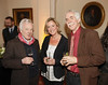 Anthony Farrell, Djinn Von Noorden and Anthony Glavin at the Hennessey Literary Awards held in the French Ambassadors Residence