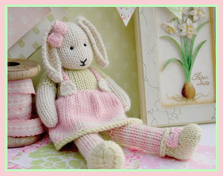 Ravelry Lily A Spring Baby Bunny Pattern By Susan Hickson