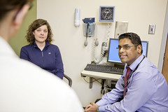 Doctors and residents working with patients at the JFK clinic in St. Louis. Satish Chandraprakasam, MD (Mercy Health) Tags: stlouis balls patient doctor learning teaching residency resident graduatemedicaleducation eastregion internalmedcine jfkclinic