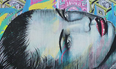 Rone (paul nine-o) Tags: streetart london collage graffiti urbanart spraypaint drips freehand aerosol spraycan rone ortrait