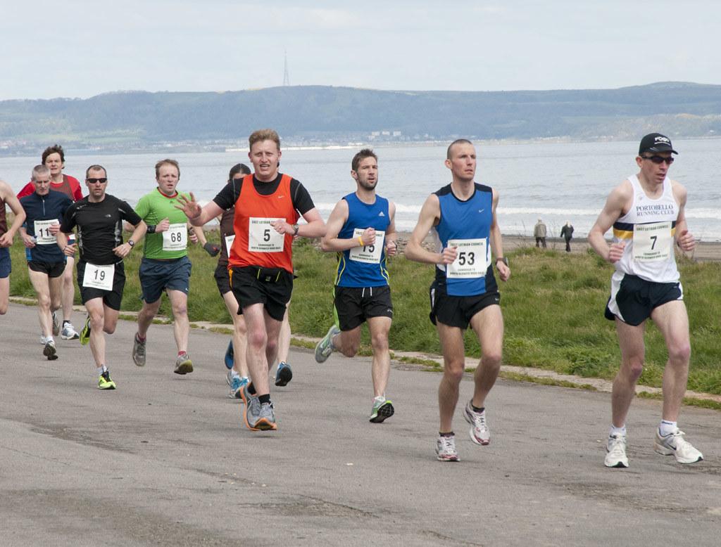 Portobello Beach Race