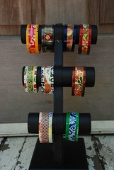 tin cuffs (pinkhare) Tags: tin recycled jewelry bracelet cuff