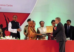 UNHCR News Story: UNHCR honoured by Bangladesh for helping millions in 1971 conflict (UNHCR) Tags: pakistan india news 1971 asia refugees president relief help aid violence conflict