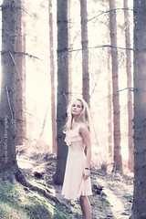 I Ran Away (Sophia Alexis) Tags: trees portrait sun colors forest self canon eos 50mm dress 7d sgima
