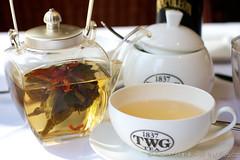 Urban Tea Merchant: Enchanted Beauty green tea (Tiny Bites) Tags: food canada vancouver asian japanese downtown bc tea drink sakura cherryblossoms westcoast afternoontea hightea canonef50mmf14usm teaservice karenhamilton urbanteamerchant tinybites tinybitesca urbantea