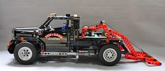 Lego Technic 9395 Pick-Up Tow Truck (KatanaZ) Tags: lego technic 2012 lego9395 pickuptowtruck