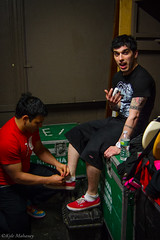 Normal life (kylemahaneyphotography) Tags: music soup for tour finger injury joe bowling lancaster backstage pending patent ragosta
