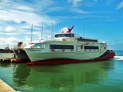 Carnival Runner (Starjack30) Tags: water ferry taxi catamaran trinidad tobago portofspain austal