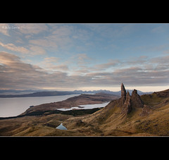 The Old Man of Storr (Billy Currie) Tags: ocean old lake man skye rock island islands scotland highlands stack inner formation og loch isle hebrides cuillin storr