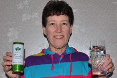 084 2014 G&T - gin o'clock (Margaret Stranks) Tags: glass can sainsburys gin tonic onesie 2014 365days 084365 diettonic drylondongin