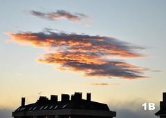 UFO (1BlancaPhotography) Tags: light sky naturaleza sun luz nature landscape photography nikon colours cielo paintingwithlight crepusculo juego fotografía juegosdeluz collores