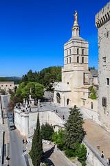 Notre Dame des Doms (Colin Radford) Tags: france des notre dame avignon palaisdespapes doms