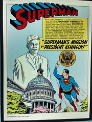 Superman's Mission for President Kennedy - published after the assassination. Kiosk at Copley Square, Back Bay, Boston. #aea #aeabos (Jeffrey) Tags: boston ma spring place massachusetts president saturday superman jfk april kiosk mass bostonma copley kennedy 1964 assassination kiosks 2014 aea aneventapartcom aeabos