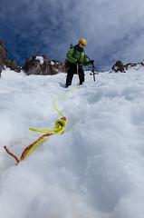 MM1_8091_edit (sssmithphoto) Tags: sky snow rock mt rope mthood mountaineering hood iceaxe steep