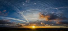 Sunrise ~ Explore (intrazome) Tags: light england sky sun nature weather clouds sunrise skyscape landscape nikon cornwall cloudscape cloudporn sigma1770 d5100