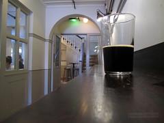 A Bit of Dark (innpictime ζ♠♠ρﭐḉ†ﭐᶬ₹ Ȝ͏۞°ʖ) Tags: lighting beer glass bar stairs pub corridor ale grill shelf decor porter stout dado chairrail darkbeer drinkingvessel straightglass hipbar 522042120119056