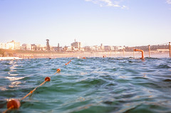 Morning laps at Bondi (Robert Ogilvie) Tags: sydney australia contaxt oceanpool