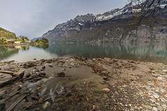 Lake Walenstadt (Thomas Mülchi) Tags: switzerland earlymorning hdr mols 2016 cantonofstgallen lakewalenstadt churfirstenmountainrange