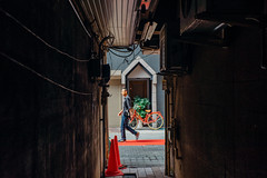 Yanagase_09 (Sakak_Flickr) Tags: gifu nokton shoppingarcade shotengai yanagase nokton35f14
