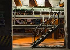 Escaleras (Jos M. Hosttas) Tags: longexposure nightphotography plant planta stairs concrete lights luces high lowlight industrial factory guatemala towers cement silos cemento alto levels torres fbrica concreto largaexposicin gradas pocaluz elprogreso niveles fotografanocturna