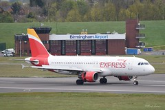 Birmingham Airport 2nd May 2016 (sirlordio) Tags: birmingham emirates cello monarch thomson airbus a380 boeing ryanair klm sas lufthansa aerlingus 757 737 a320 iberia avro dash8 embraer flybe bhx turkishairlines avgeek brusselsairlines