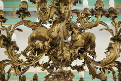 Eagles Statue on The Hanging Lamp in The Pendopo of Mangkunegaran Palace, Solo City, Indonesia (ARIAMAN) Tags: castle history lamp architecture java palace solo indo jawa lampu surakarta keraton jawatengah mangkunegaran mangkunegara