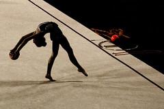 in time...in space (@ntomarto) Tags: italy sport ball movement italia grain movimento haas palla grana fourthdimension ritmica gymn ginnasticaritmica antomarto ntomarto