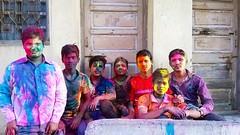 Rangapanchami- ( ) Tags: rangapanchimi holi spring festival maharashrta colours rangpanchami people tuljapur