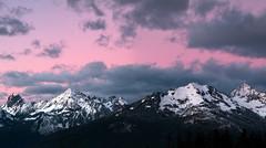 North Cascades (Stephanie Sinclair) Tags: sunset mountains washingtonstate northcascades stephaniesinclairphotography seattleempress