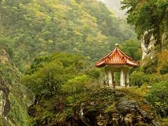 Peace of Mind (Unvoyageur) Tags: pagoda asia taiwan asie pagode tarokonationalpark heliou taiwan parcnationaldetaroko
