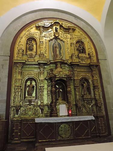 Retablo del Altar Mayor, Capilla de San Francisco Javier, Parroquia de la Santa Veracruz, Centros Histórico, Cdad. de México, CDMX