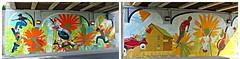Kids Play by Bill Wrigley, Underpass Mural, Toronto, ON (Snuffy) Tags: toronto ontario canada autofocus kidsplay billwrigley sheppardandleslie muralroutes underpassmuralproject