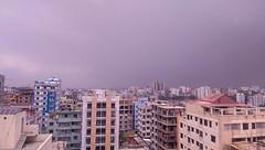 One hazy day ( ) Tags: city man building m8 dhaka mycity htc sultanmahmood