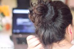 [156/366] Netflix is always a good idea (Anna Jlia | Photography) Tags: love girl project hair photo day photos year netflix 366